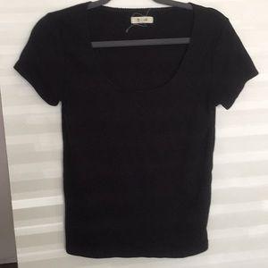 Madewell scalloped shirt